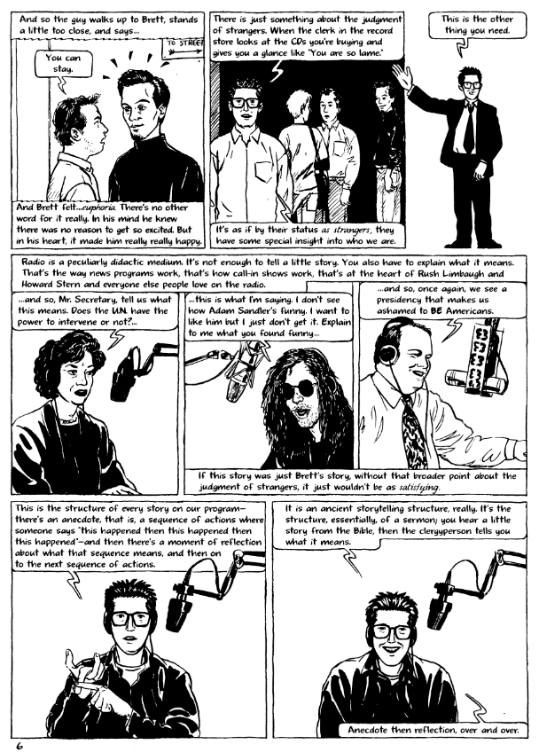Radio:an Illustrated Guide by Jessica Abel and Ira Glass page 6