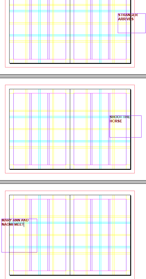 visual scripting 13 page chart