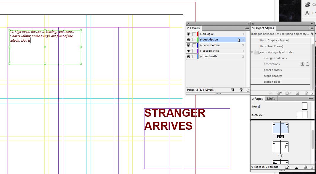 visual scripting 14 drafting how to write comics