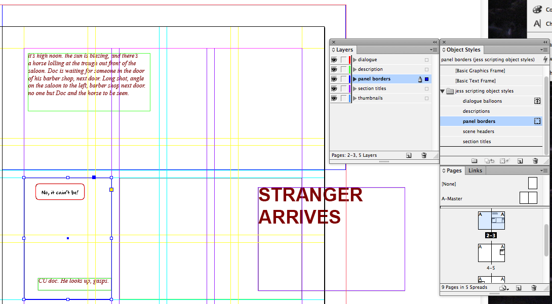 visual scripting 15 panel borders