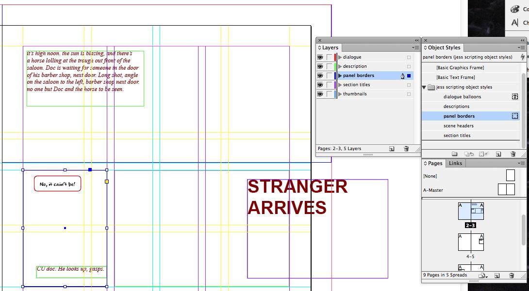 visual scripting 15 panel borders how to write comics