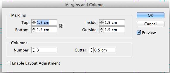 visual scripting 3 margin setup