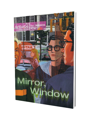 Mirror window for Mirror books
