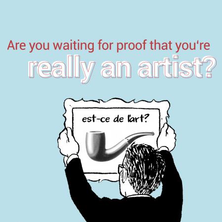 really an artist
