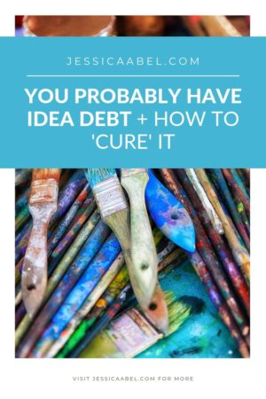 Clearing idea debt is probably the best productivity tip or motivation tip you've never heard before. Click through to learn more about getting rid of yours!