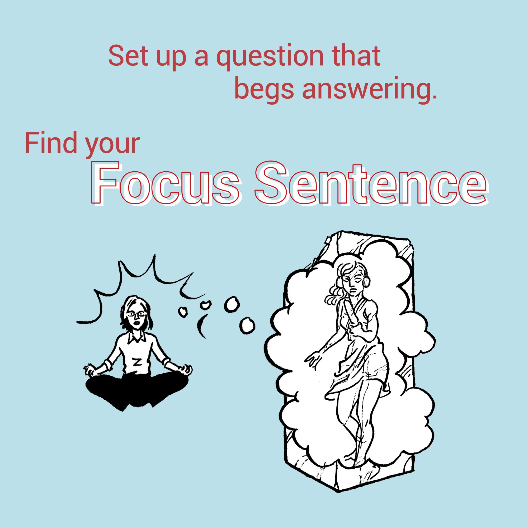 focus sentence