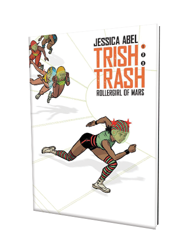 Trish Trash: Rollergirl of Mars book cover