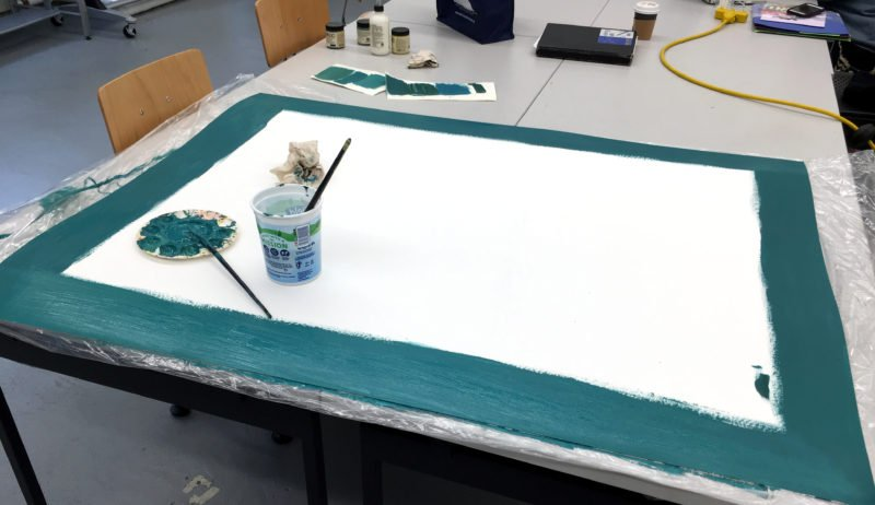 how to stop putting things off - painting