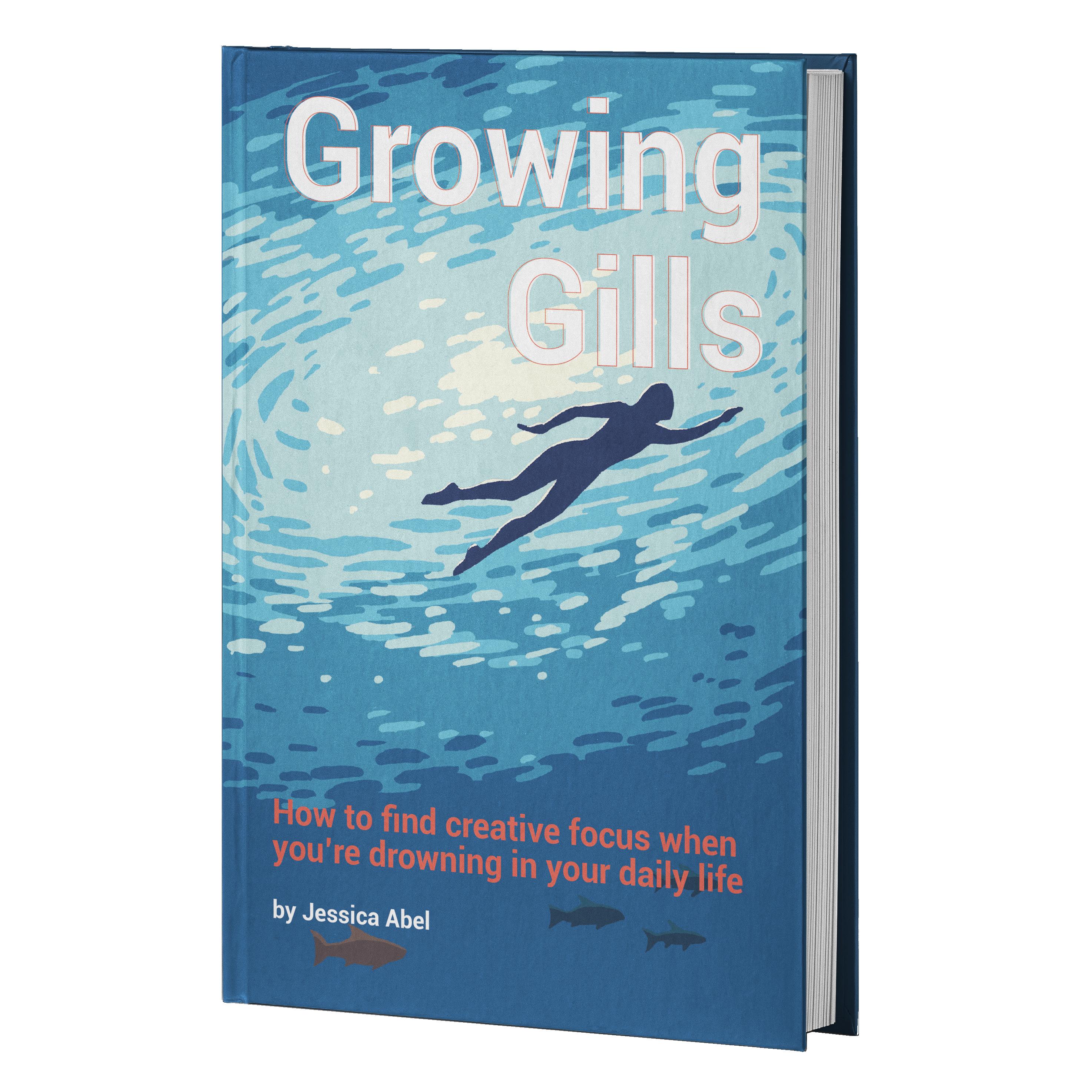 Growing Gills HC mockup