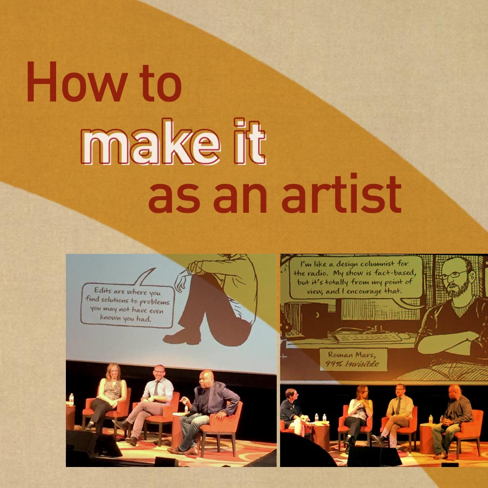 How to make it as an artist